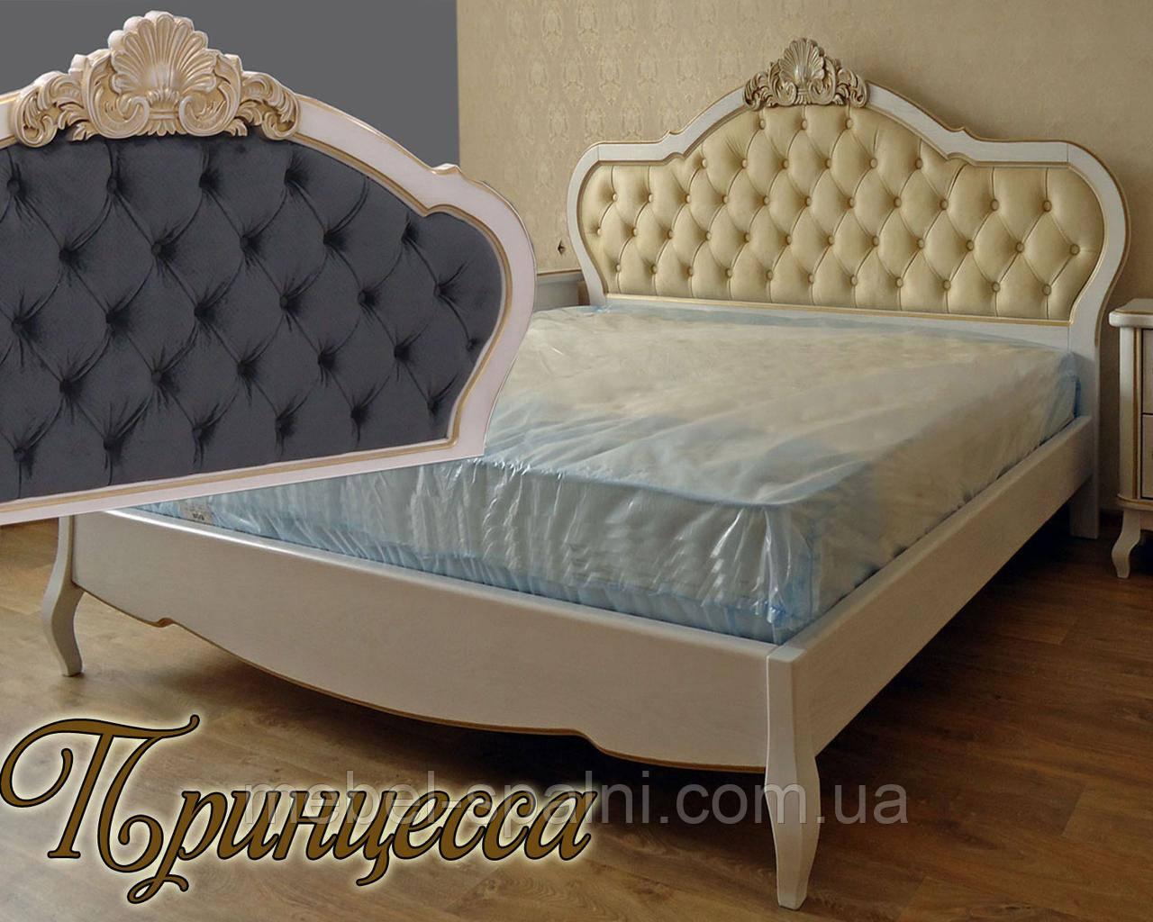 Кровать двуспальная «Принцесса»