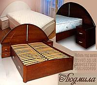 Кровать полуторная «Людмила», фото 1