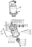Поворотный механизм 3 W14F21A3, фото 1