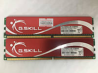 Оперативная память G.SKILL 2gb kit (2x1gb) PC2 6400 800MHz універсальна під Intel та AMD
