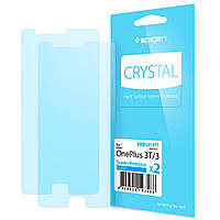Защитная пленка Spigen Crystal для OnePlus 3/3T (2 пленки)