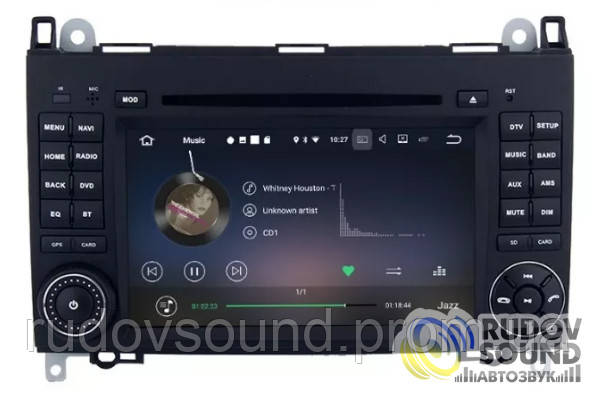 Android магнитола Mercedes Sprinter W906/W209/W311/W315/W318