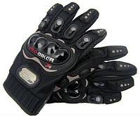 Перчатки велосипедные PRO-BIKER с защитой