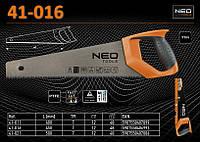 Ножовка по дереву тефлон 7TPI - 450мм., NEO 41-016