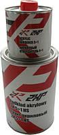 Грунт акриловый 2XP 5+1 с отвердителем комплект 1л красный