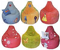 Бескаркасное кресло-мешок груша пуф подарок ребенку
