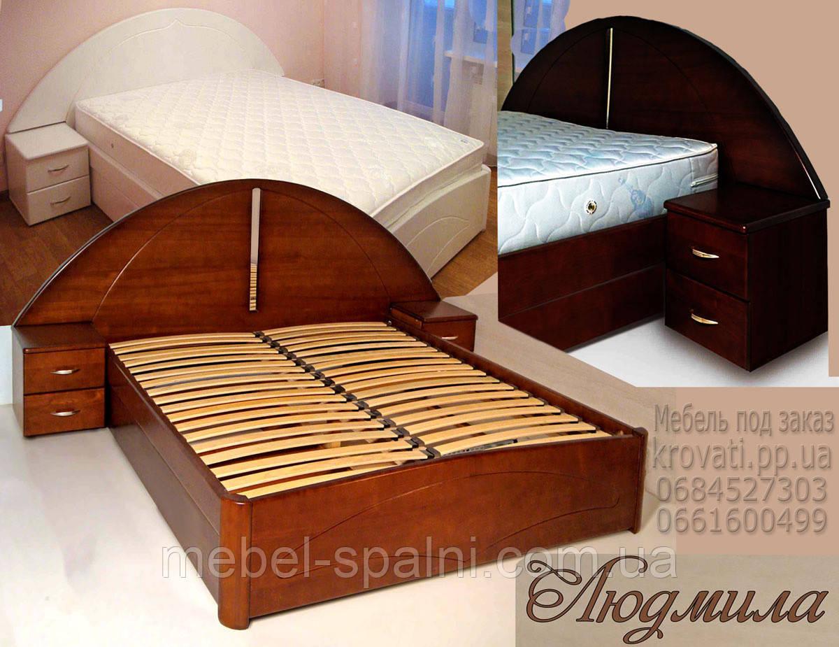 Кровать с подъемным механизмом «Людмила»