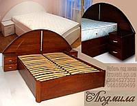 Кровать с подъемным механизмом «Людмила», фото 1