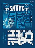 Термонаклейка (Термотрансфер) Скейт  25х35см