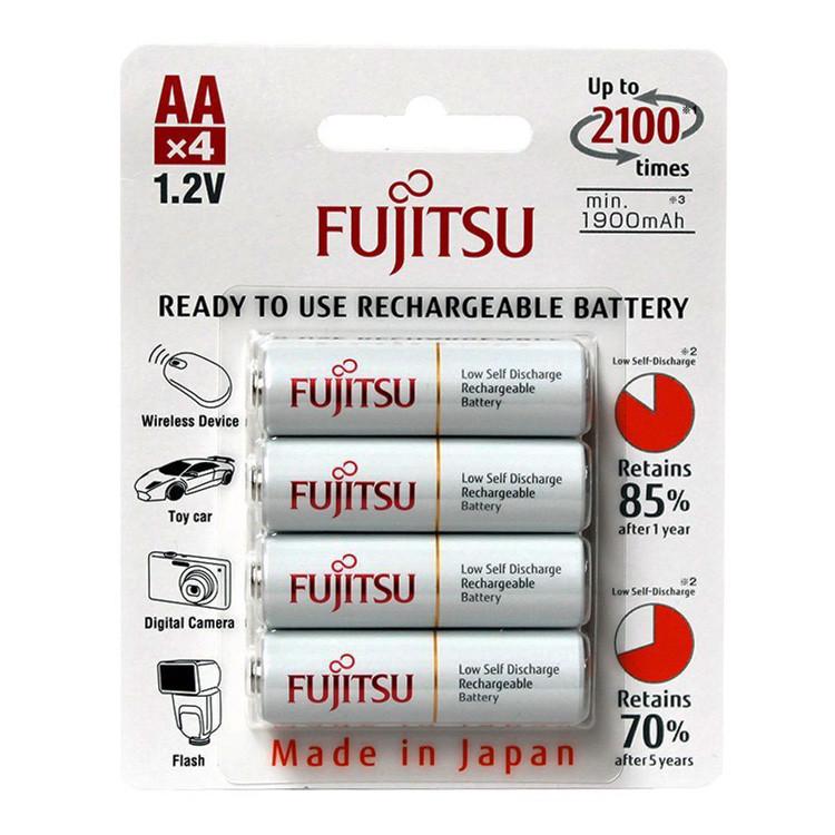 Аккумуляторы Fujitsu HR-3UTCEX 1900 mAh AA (4шт.)