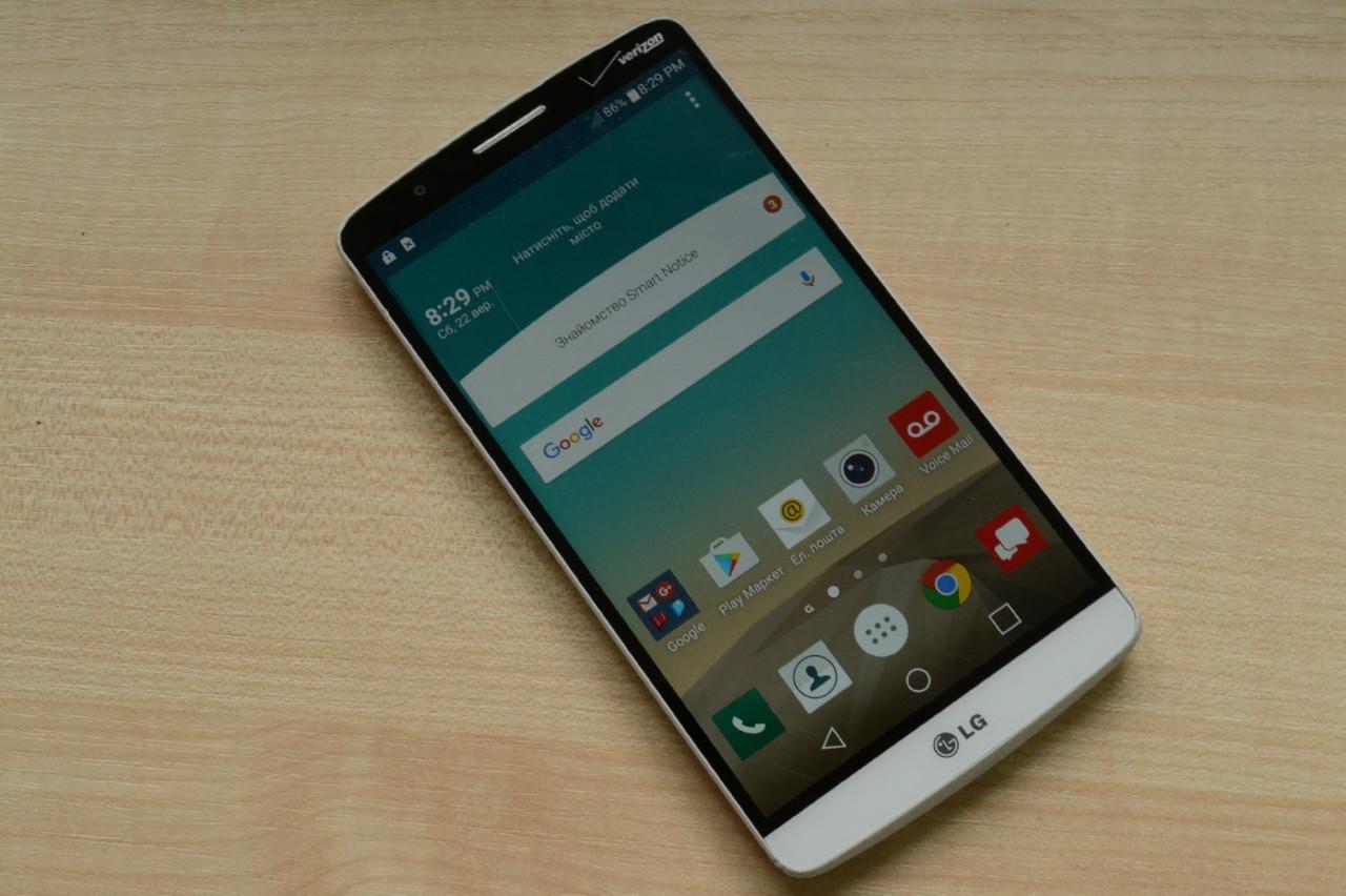 Смартфон LG G3 VS985 32Gb White Оригинал!