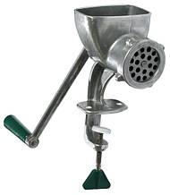 ЭЛЬВО 2 МА-С Мясорубка алюминиевая ручная с насадкой для колбас