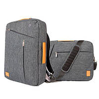 Рюкзак WIWU GearMax Gent Transform Backpack Grey для Macbook