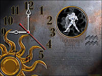 Часы настенные 31, зодиак 30х40 для кухни, гостиной, детской, спальни. Подарок