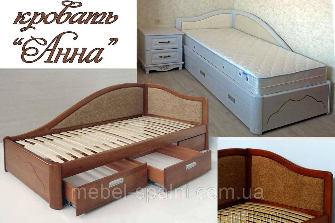 Кровать мягкая «Анна»