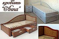 Кровать мягкая «Анна», фото 1