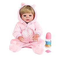 Лялька Reborn дівчинка 55см ( 01348), фото 1