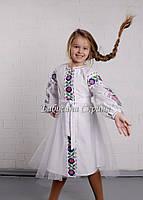 Сукня вишита дитяча МВ-125сд, фото 1