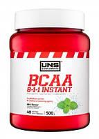 Аминокислоты BCAA UNS - BCAA 8:1:1 Instant (500 грамм)  kiwi/киви