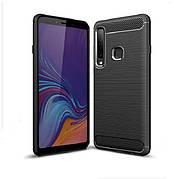 Чехол силиконовый TPU на Samsung A9 2018 / A920 черный