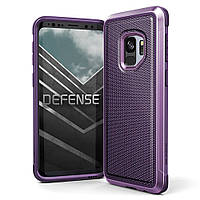 Противоударный чехол X-Doria Defense Lux Purple Ballistic Nylon для Samsung Galaxy S9