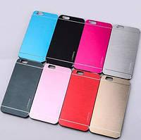 Чехол Motomo iPhone 6 Plus, 6s Plus Metal Case Накладка Бампер Металлическая на Айфон 6+