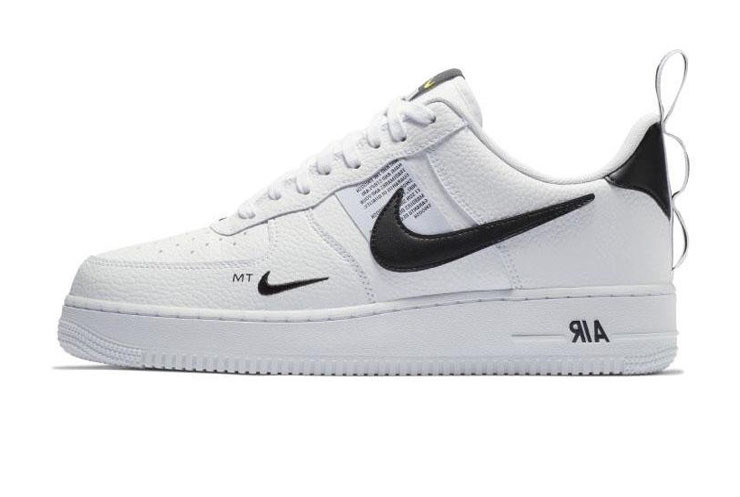 a0438912 Женские кроссовки Nike Air Force 1 TM White Black Low (Реплика ААА ...
