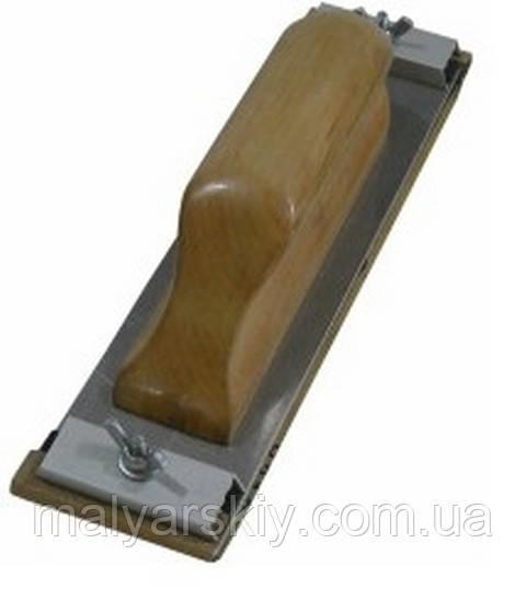 1748 Рубанок деревяний Mini (кріплення винт зажим) 210*55  VTP