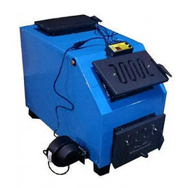 Котел Вогник КОТВ 28 кВт шахтний з верхнім завантаженням твердопаливний.