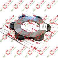 Диск металлический фрикционной муфты левый на пресс-подборщик Sipma Z-224 5223-110-001.00, 0829-401-856, фото 1