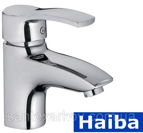 Смеситель для умывальника Haiba Focus 001