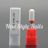 Насадка керамическая для фрезера цилиндр (красный