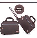 (37*57*31)Дорожня сумка на колесах Відмінна якість тільки оптом, фото 2