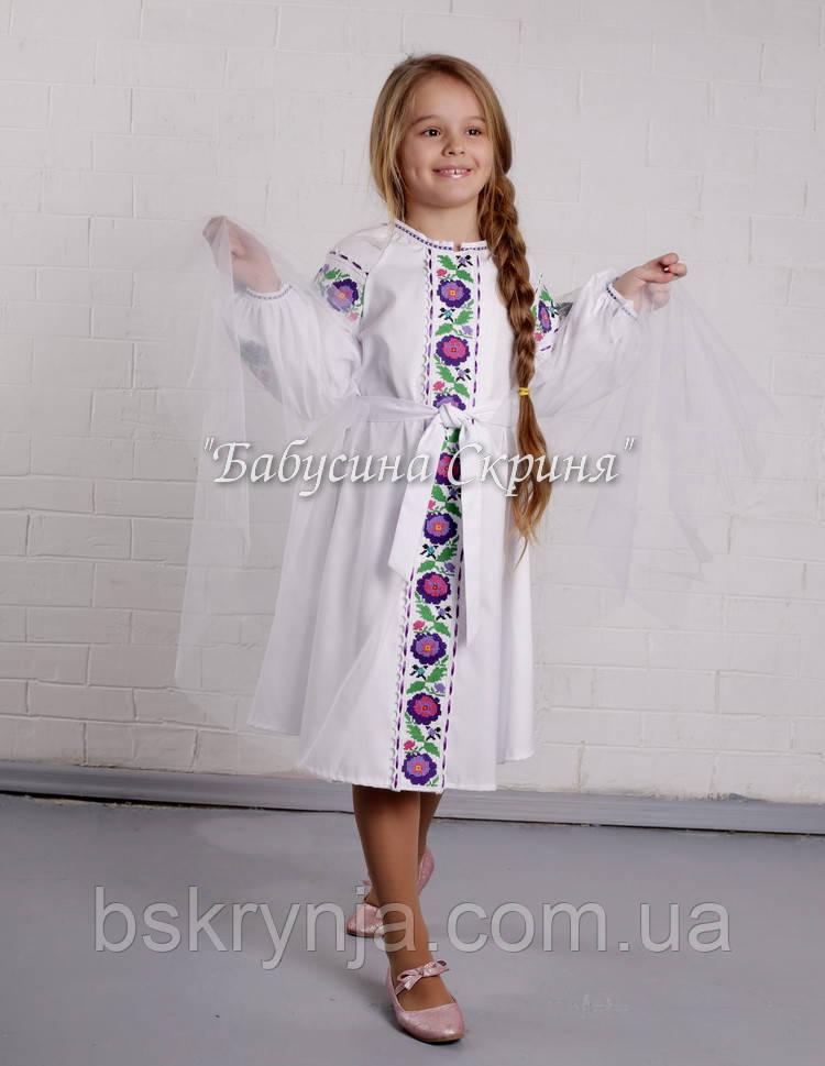 Заготовка для вишивки дитячої сукні БС-125сд