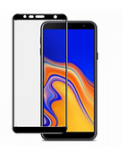 Защитное стекло Full Glue Samsung J6+ plus 2018 / J610 Черное