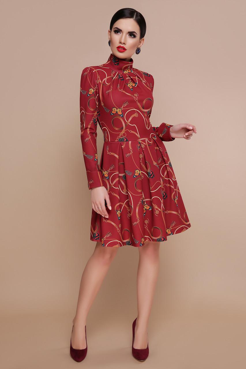 Сукня з спідницею в складку