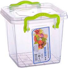 AL-PLASTIK MiniLux Пищевой контейнер с ручками 0.6 л