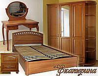"""Спальный гарнитур """"Екатерина"""" мебель для спальни. Белая, красивая, деревянная спальня"""