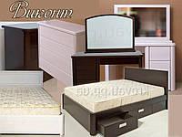 """Спальный гарнитур """"Виконт"""" мебель для спальни. Белая, красивая, деревянная спальня"""