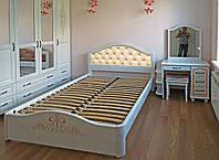 """Спальный гарнитур """"Виктория 1"""" мебель для спальни. Белая, красивая, деревянная спальня"""