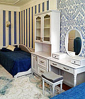 """Детская спальня из дерева  """"Лорд 1"""" мебель для детей девочки, мальчика подростка белая деревянная"""