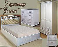 """Детская спальня из дерева  """"Елена"""" мебель для детей девочки, мальчика подростка белая деревянная"""