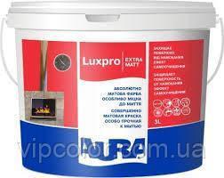Aura Luxpro Extramatt Бесцветная TR 2,25 л акрилатная краска для стен и потолков арт.4820166525645