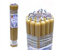 9060004 Свечи восковые церковные пучек 1 кг. Натуральный цвет №10