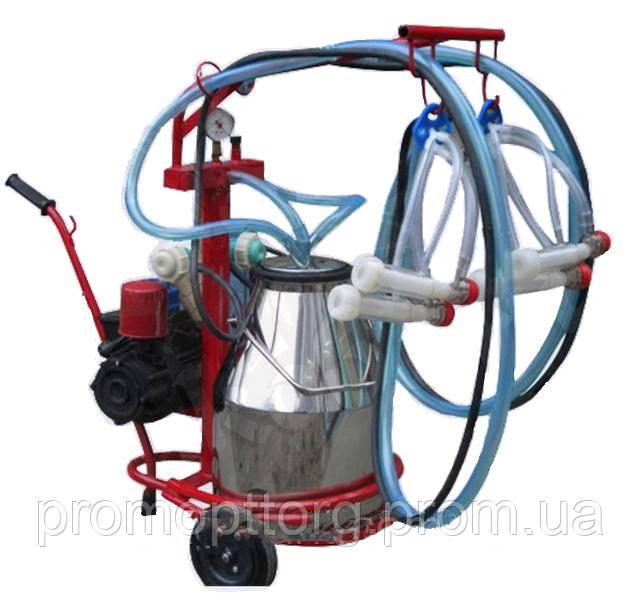 Доильный аппарат для коз Белка-2