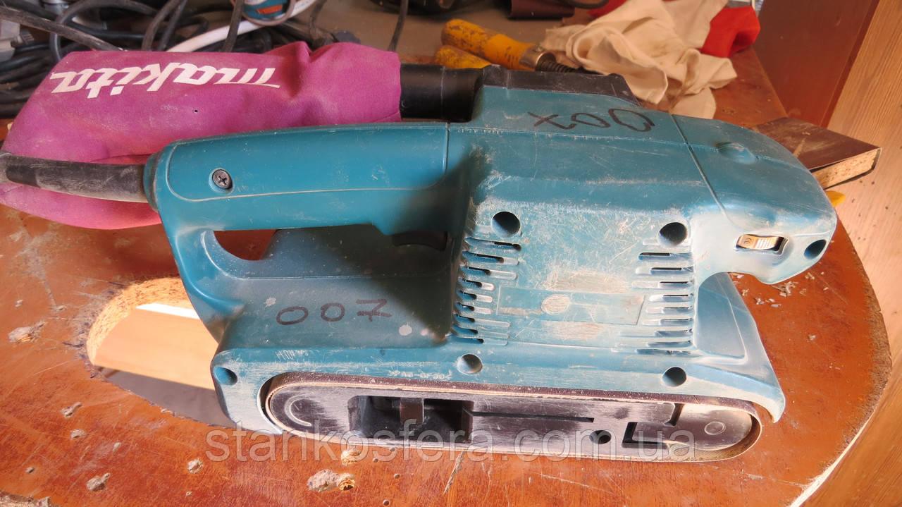 Стрічкова шліфмашина Makita 9911 бу 2011 року у відмінному стані