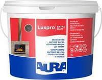 Aura Luxpro Extramatt Бесцветная TR 9л совершенно матовая краска для внутренних работ арт.4820166525652