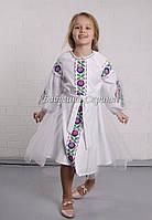 Заготовка для вишивки дитячої сукні БС-125сд габардин