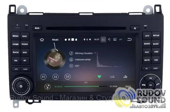 Android магнитола Mercedes W639/W906