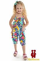 Комбинезоны, шорты и комплекты летние для девочек